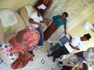 AUHF Delegates Visit MFF Affordable Housing Sites