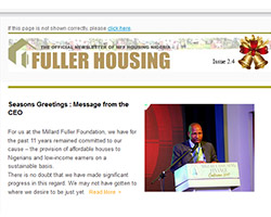 Mff housing December newsletter shots