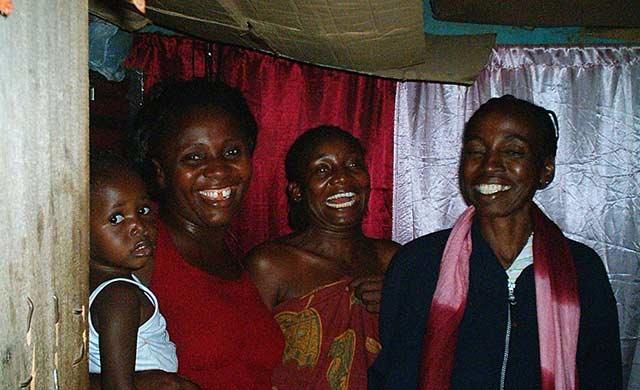 Fuller Homeowner Mrs. Augustina Igbokwe and family